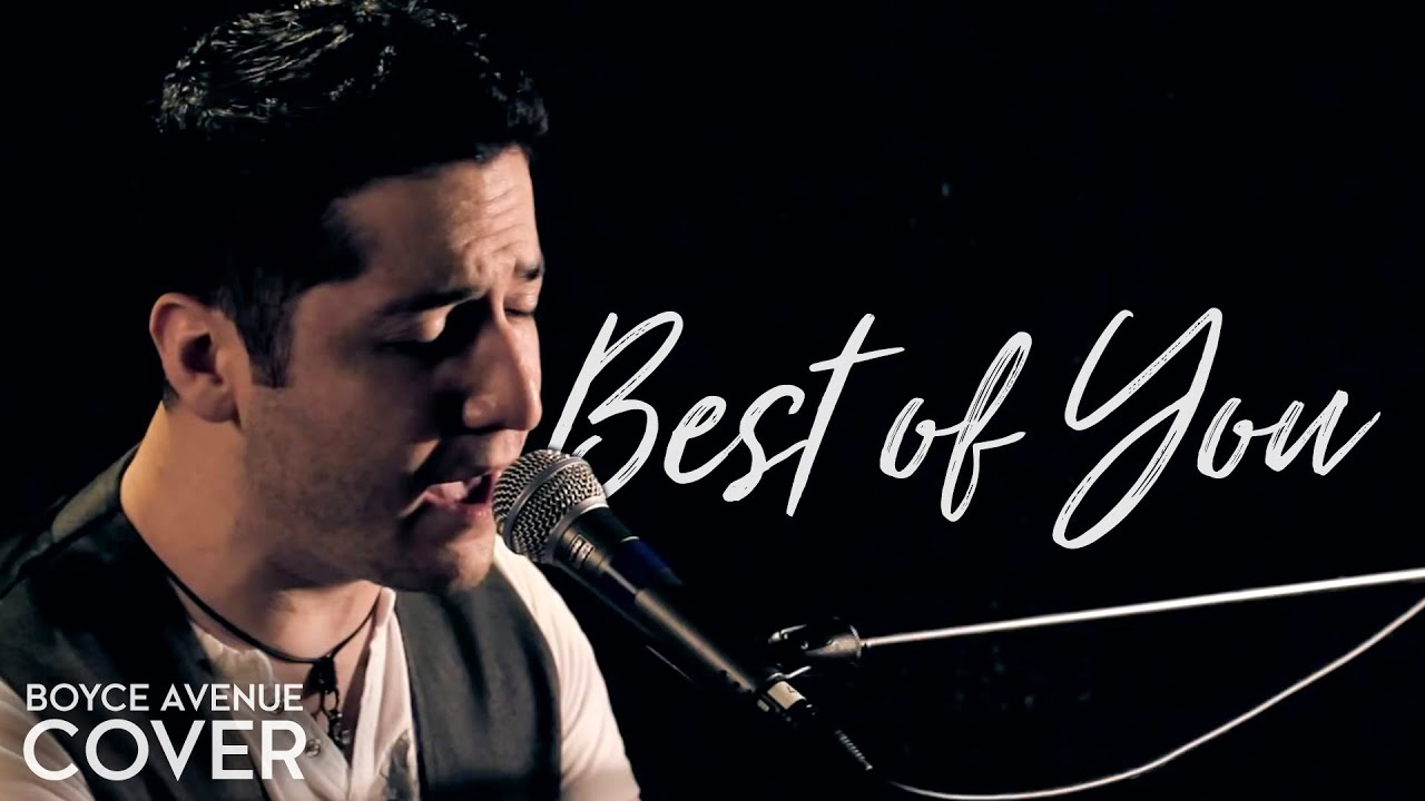 Best of you cover acoustic