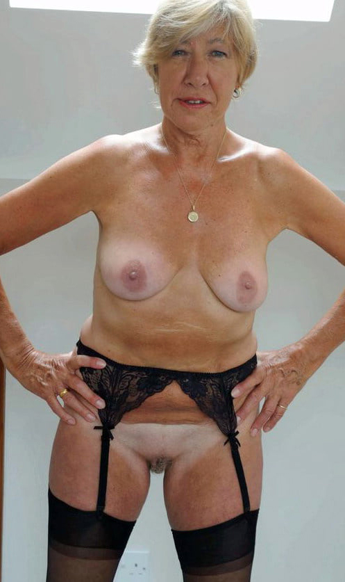 Naked pictures of old ladies